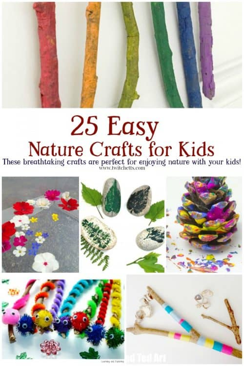 25 Easy Nature Crafts For Kids To Make This Summer Twitchetts
