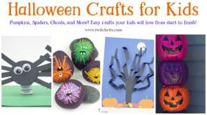 Halloween crafts are some of our favorites. From bouncy bats to fun paper ghosts. We love to create adorably spooky crafts for kids. Check out this collection of amazing crafts that kids will love to make!