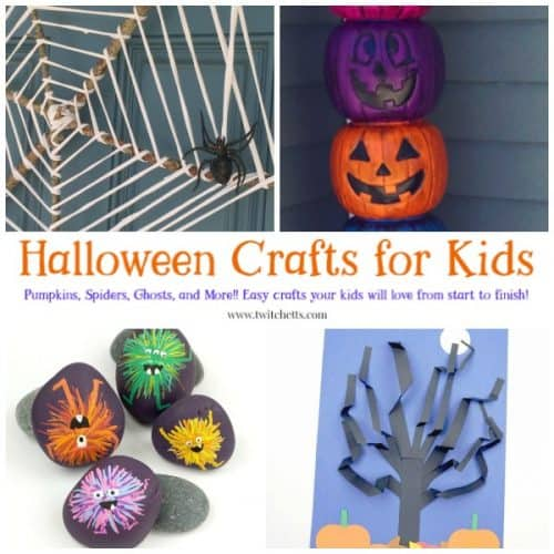 14 Easy Halloween Crafts That Kids Will Love To Make Twitchetts