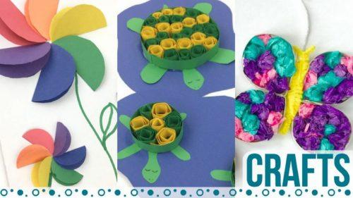 Crafts for kids #crafts #kidscrafts #twitchetts