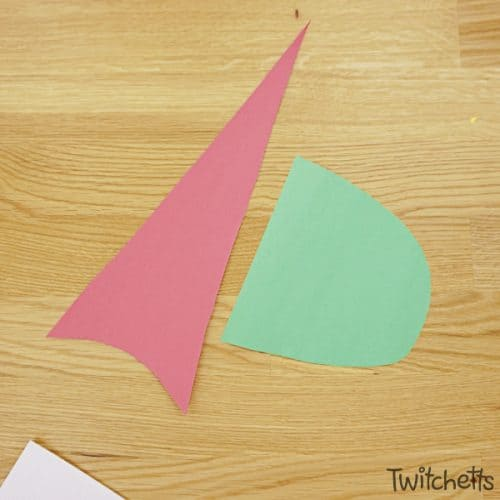 This paper gnome craft is perfect for Christmas and winter-themed crafting. Your kids will love creating these little guys. #gnome #papercraft #christmas #holiday #winter #papergnomes #constructinopaper #craftsforkids #twitchetts