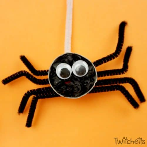 Spider papercraft, Low poly spider, DIY spider, Paper spider ... | 500x500