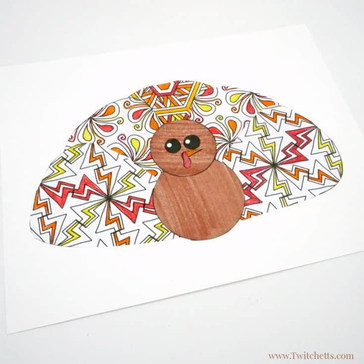 Turkey Printable Craft