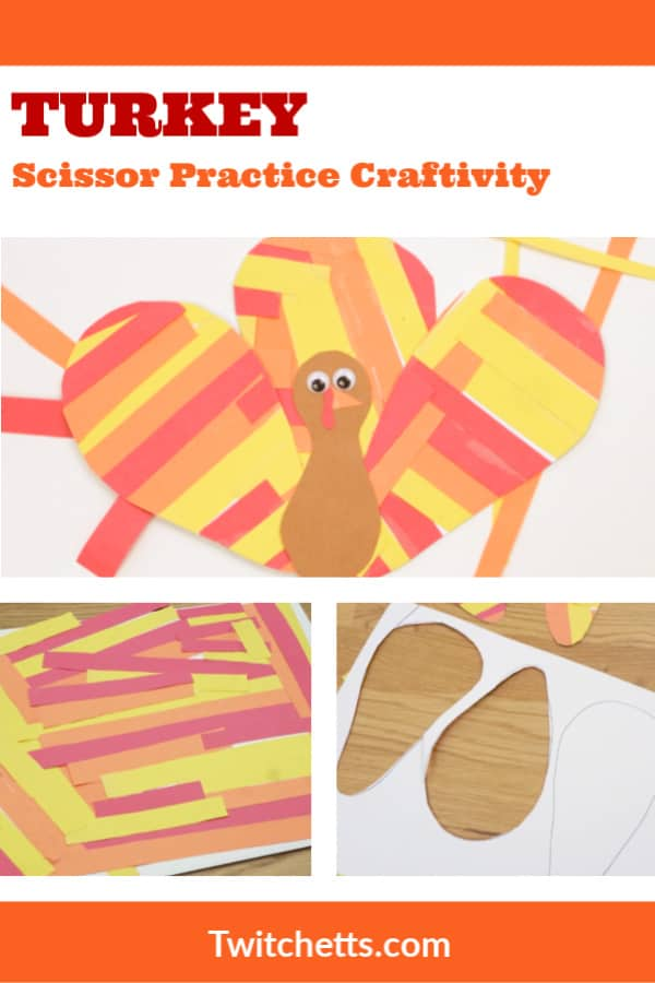 A thanksgiving turkey craft for preschool #twitchetts