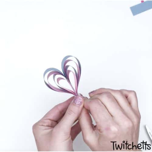 Valentines day classroom heart wand craft