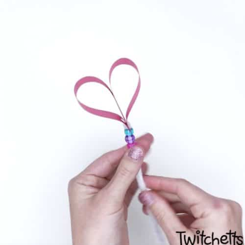 Valentines day wand to make with kids