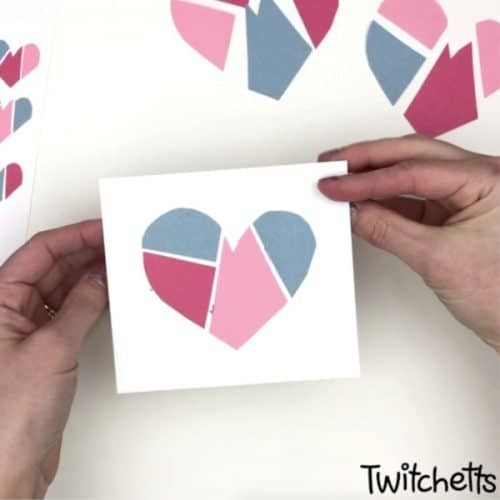 Children can also turn mended paper hearts craft into a kindness project for Valentine's day! #Twitchetts