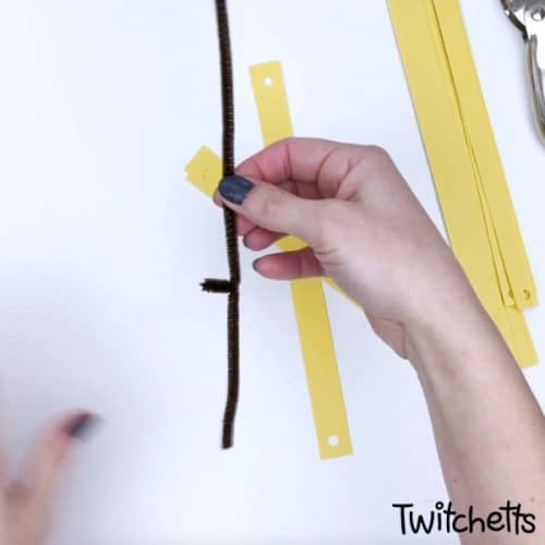easy sunflower craft for preschoolers #twitchetts