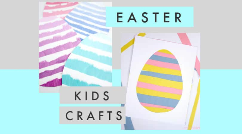 12 fun Easter crafts for kids ~ Easter eggs, crosses, and bunnies.