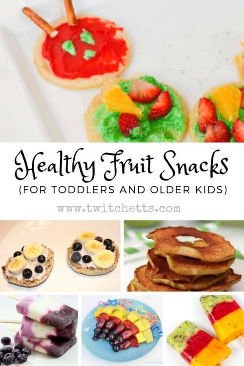 Healthy Fruit Snacks for Toddlers and Older Kids #twitchetts