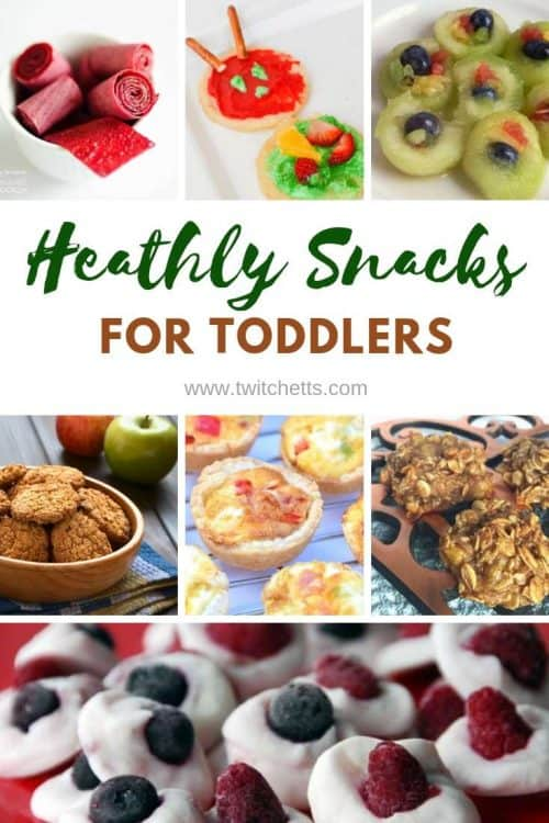 Heathly Snacks for Toddlers - yummy food for picky toddlers #twitchetts