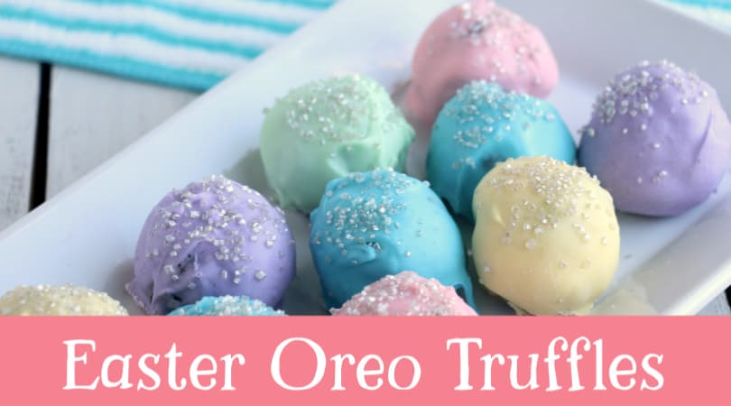 How to make easy cookie truffles for Easter