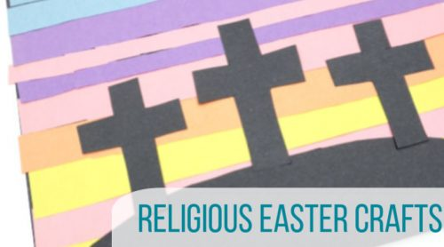 Religious Easter crafts are a great way to teach your children about Easter or your Sunday School Class the true meaning of Easter. #twitchetts