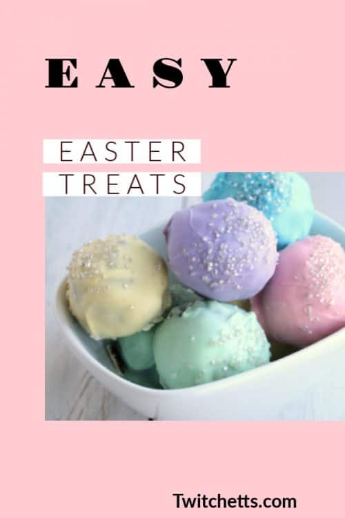 These easy recipes make for easy Easter treats that you can make with kids at Easter time.