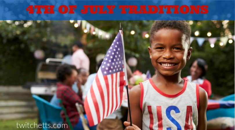 Celebrate our nation with these fun and easy 4th of July traditions that the whole family can enjoy together. From games to creating centerpieces for the food table.