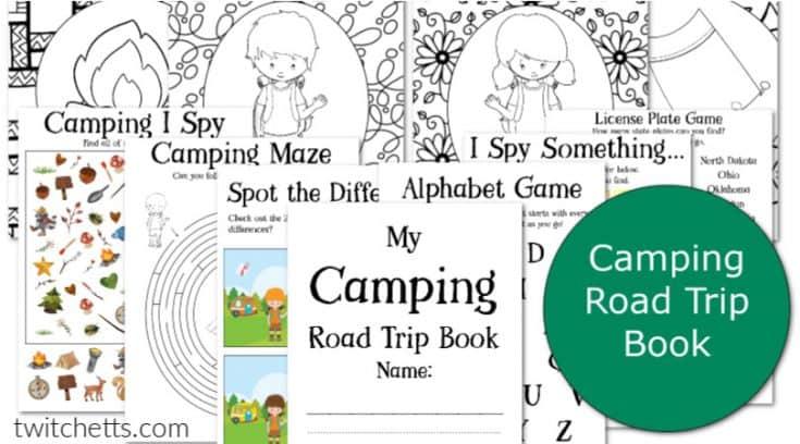 Camping Travel Game