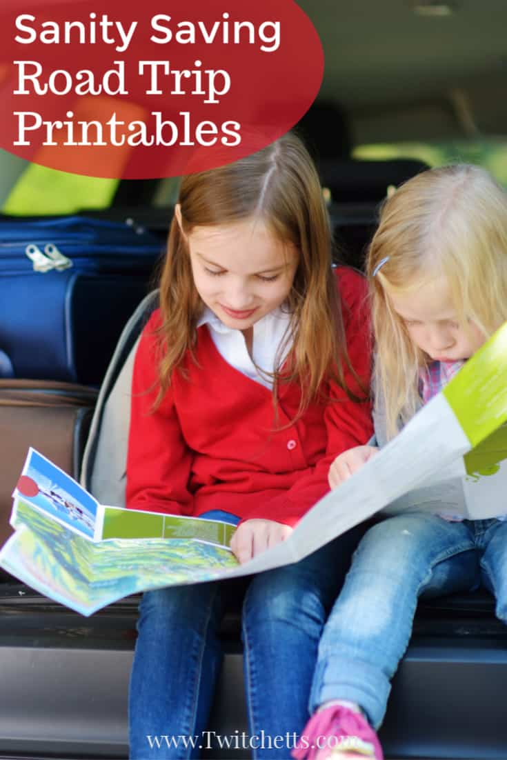 These road trip printables are perfect for creating memories on the road. Because when you load up the van for a long car ride, you're going to want a lot of fun car trip activities that will keep your kiddos entertained.#twitchetts