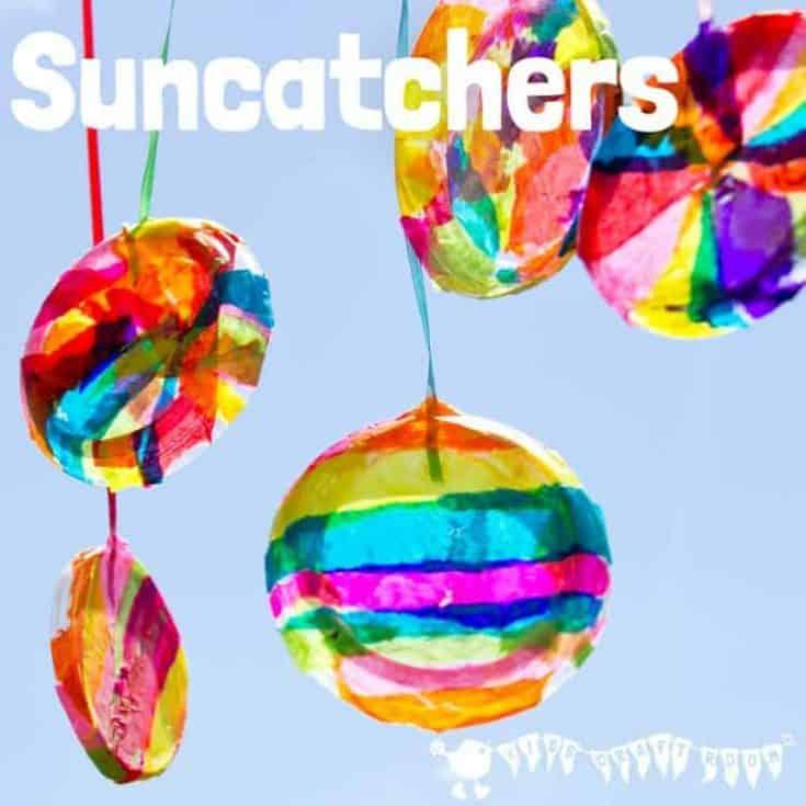 Colorful Suncatchers