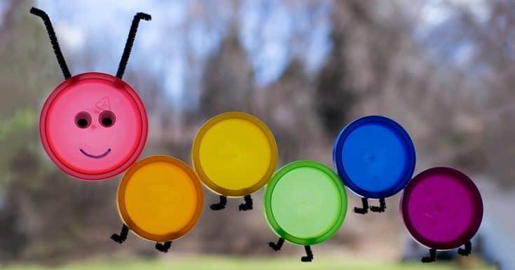 Colorful Caterpillar Suncatcher
