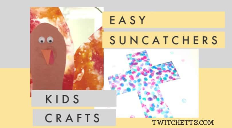 13 Colorful Suncatcher Crafts for Kids