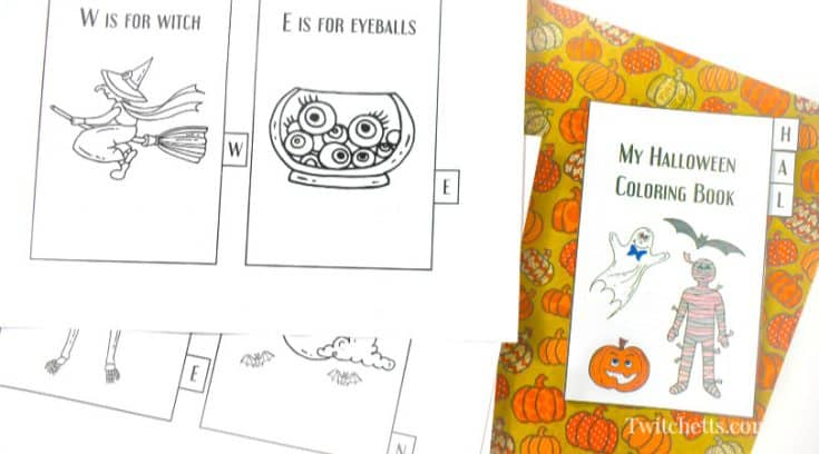 Halloween Coloring Booklet