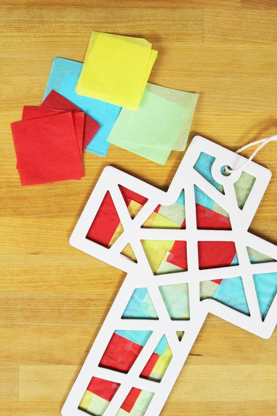 Suncatcher Cross Craft Kit
