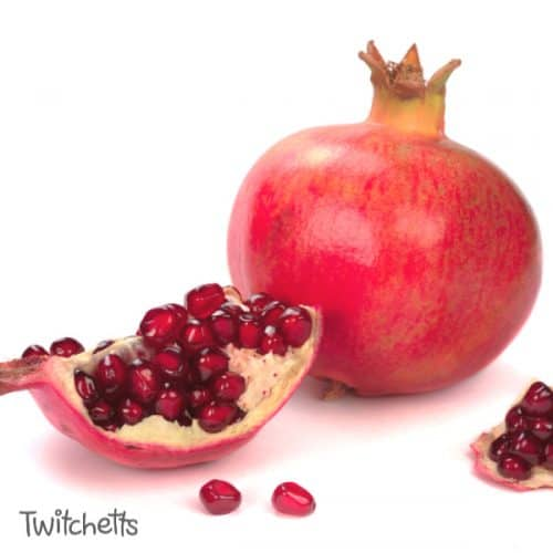 Add some fine motor activities with pomegranate. #redfoodday