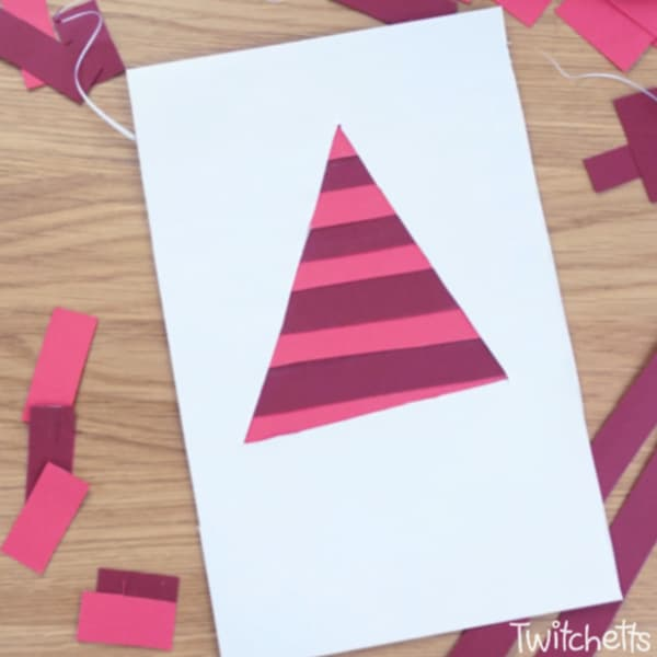 Scissor Practice Red Triangle