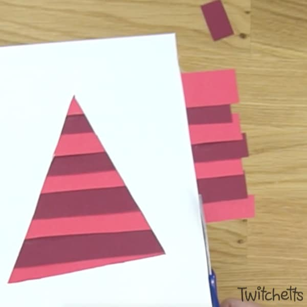 red colour craft for preschool