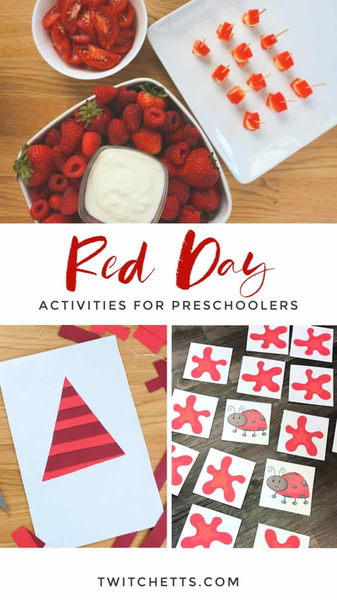 red day celebration ideas for preschool #twitchetts