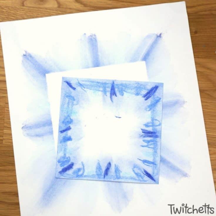 Blue Pastel Squares