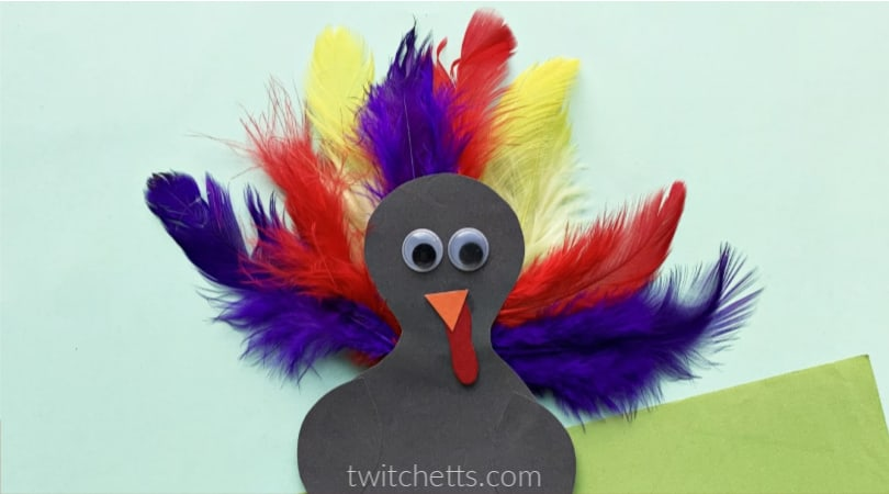 How to make a turkey puppet