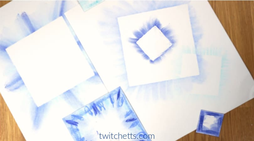 An easy blue color day art and craft for preschoolers