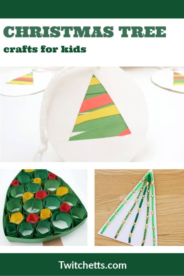 3d christmas tree crafts for kids