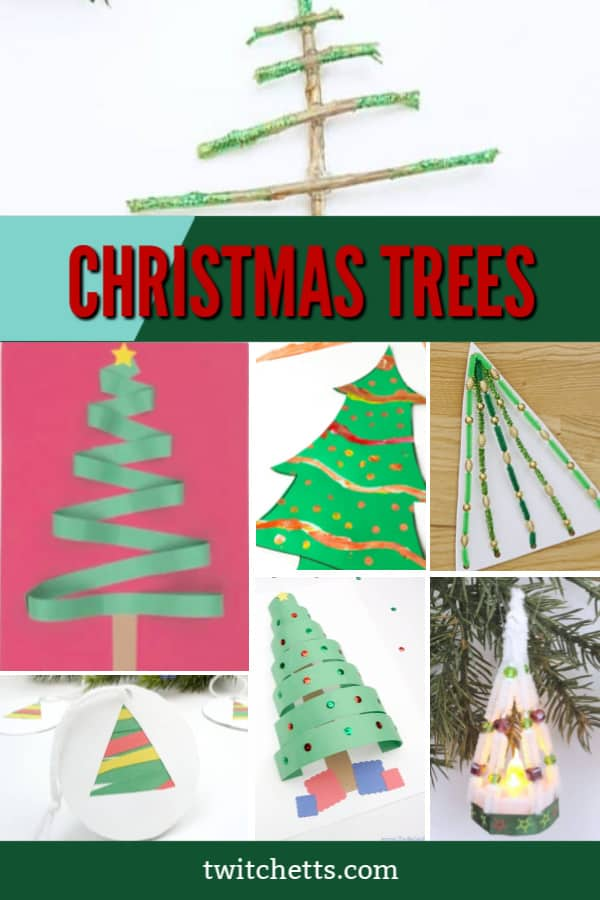 easy christmas tree crafts for preschoolers