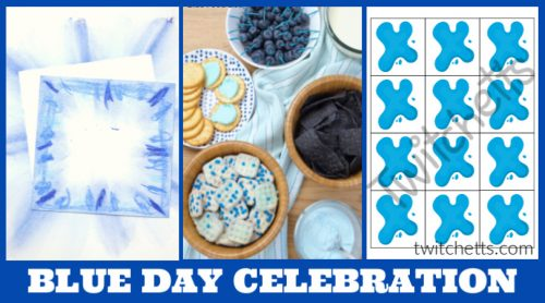 Create memories with theseblue day activities for preschool. Your kids will love learning about the color blue while you have a fun celebration. Enjoy blue foods, decorations, crafts, and more.
