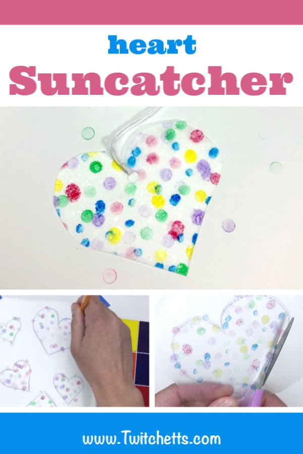 sunday school heart craft for kids