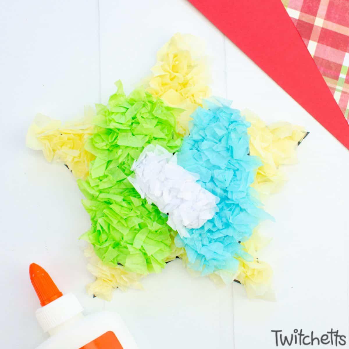 Easy nativity craft for preschoolers. Step 5