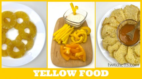Looking for yummyyellow snacks for preschool?This collection of kid-friendly foods that are yellow in color are perfect for a classroom, party, or just a fun afternoon snack!