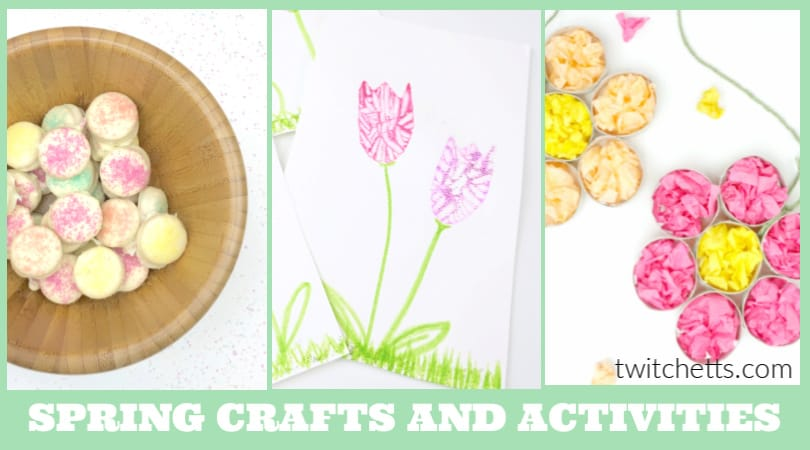 Get inspired by these easy spring crafts for preschoolers. From fun flower crafts, sweet spring treats, and fairy gardens. Perfect for welcoming in the nice weather.