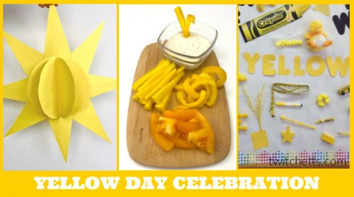 Create memories with ayellow day celebration in preschool. Your kids will love learning about the color yellow while you have a fun celebration. Enjoy yellow foods, decorations, crafts, and more.