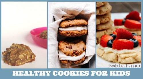 These healthy cookies for kids are a great way to give them a treat with some goodness, too. Plus, they're all super simple to make and don't take any time at all.