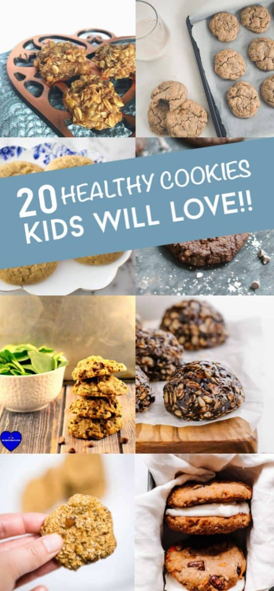These healthy cookies for kids are a great way to give them a treat with some goodness, too. Plus, they're all super simple to make and don't take any time at all.  #twitchetts