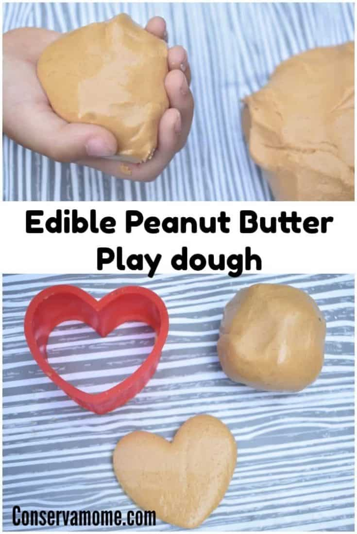 How To Make Edible Peanut Butter Play dough