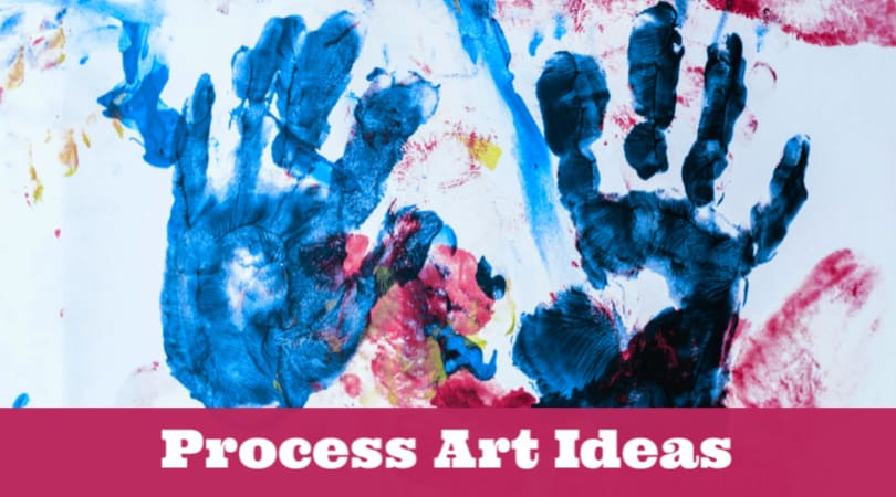 These easy process art ideas for preschoolers will spark the creativity in your little one. Let your kids experiment and learn with these fun art projects.