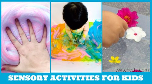 These sensory activities are a great way to have the kids be busy and also having fun. Before you spend hours searching for loads of fun ideas, check out these great kid-friendly activities here. There are so many great ideas to keep the kiddos entertained.