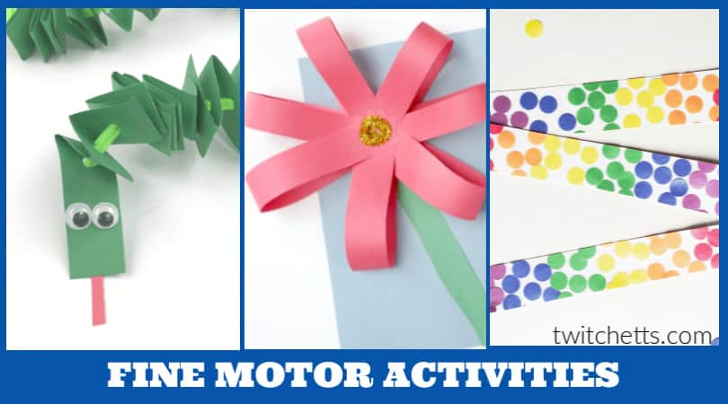 18 fine motor activities for 5 year olds