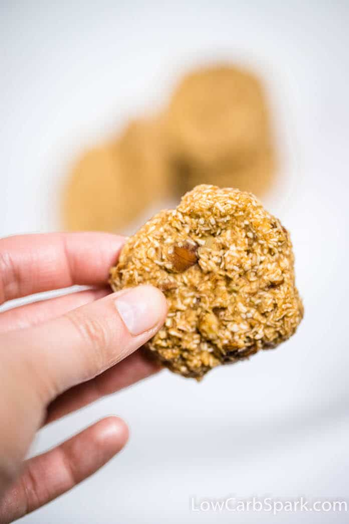 5 Minute No Bake Keto Cookies – 2 Ways & Just 2g Carbs
