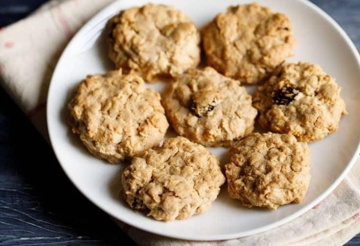 Oatmeal Cookies | Oatmeal Raisin Cookies