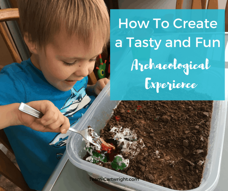 How To Make a Tasty Dino Dig for Toddlers and Preschoolers (STEM Fun!)